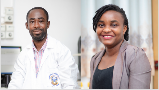 Two Researchers from the Department of Chemistry win the UK Leverhulme –Royal Society Africa Postdoctoral Fellowship Award