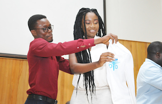 Third-Year Optometry Students Ushered into Clinical Phase