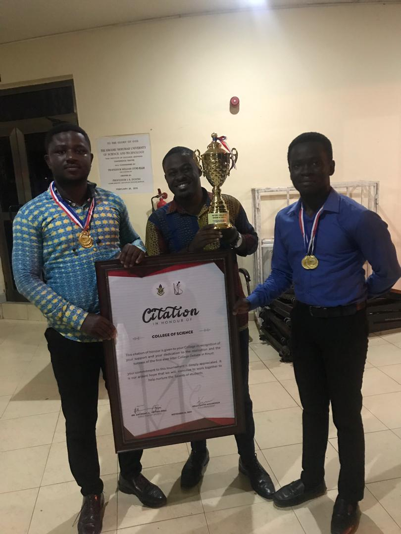 College of Science Team wins Inter College Debate championship