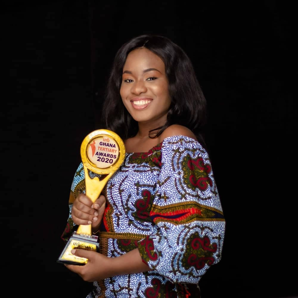 KNUST Alumna, Prisca Chinaza wins UMB Ghana Tertiary Awards 2020