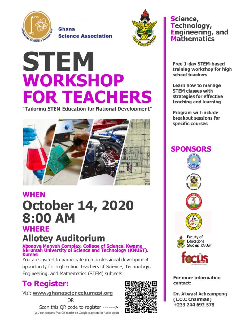 STEM WORKSHOP FOR TEACHERS
